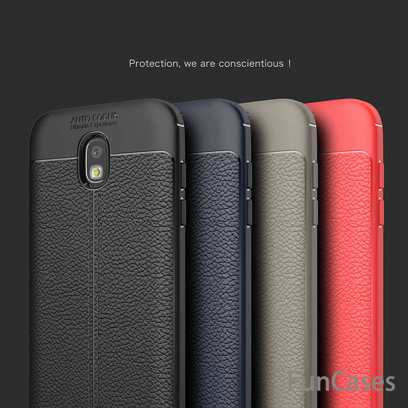 Luxury Shockproof Soft TPU Leather Case For Samsung Galaxy A3 A5 A7 2017 S7 Edge S8 Plus J3 J330 J5 J530 J7 J730 2017 Pro Cases