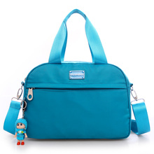 The large capacity solid color leisure bag New 2016 fashion waterproof handbag Brand high quality Contracted joker women bag
