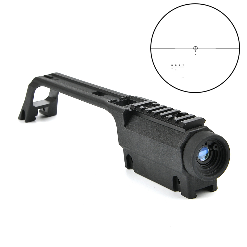 New 3.5x20 G36 Cross High Quality Rifle Scope For MP5 Metal Sight Weaver Rail Mount