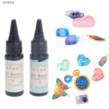 25g UV Epoxy Resin Transparent Ultraviolet Curing Jewelry Making Hard Type