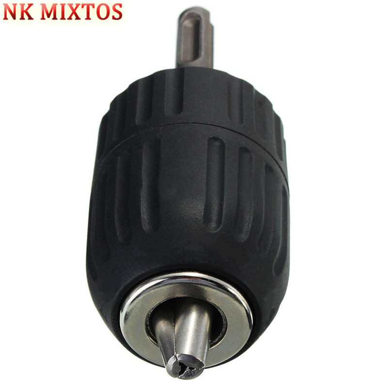 NK MIXTOS Keyless Drill Chuck With SDS Adaptor Hand Drill Chuck Set Suitable For Metal Cutting Machine Tools, Electric Drills