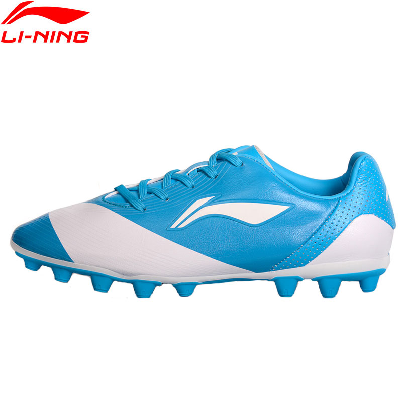 Li-Ning Children AG Soccer Training Shoes Cushion Footwear Breathable LiNing Wearable Sports Shoes Sneakers ASFM006 XYP710