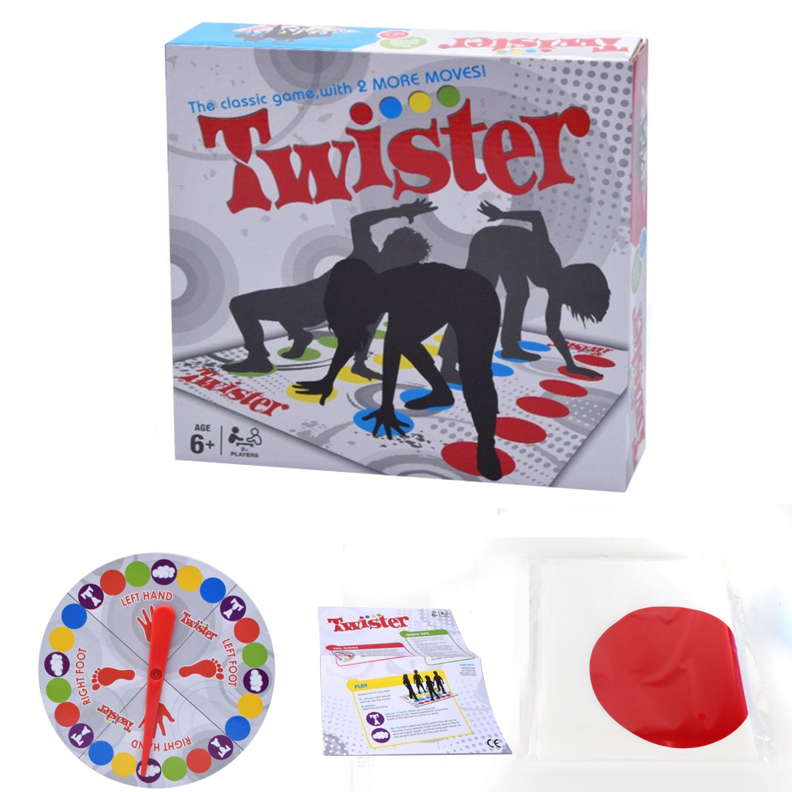 Twister Games Twister Floor Game Twister Ultimate Game For Family And Party CLASSIC FUN Adults Children