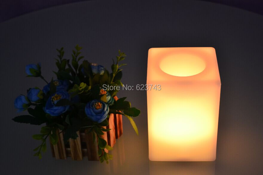 Multi-Colors Touch Senor LED Cuboid Bars Table Light Waterproof Rechargeable For LED Flower Pot/LED Ice Bucket/LED Storage Tank