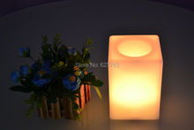 Multi-Colors Touch Senor LED Cuboid bars Table Light Waterproof rechargeable for Flower pot/LED Ice Bucket/LED Storage tank