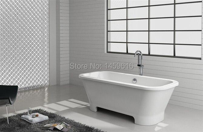 Vasca Da Bagno Freestanding Rettangolare : 1700 rettangolare in fibra di vetro con resina bagno vasca