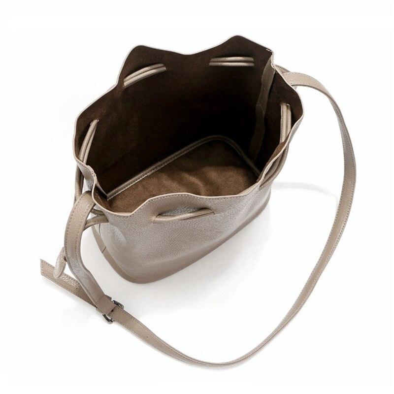 Simple classic euramerican style bucket Crossbody Bags High quality PU leather women shoulder bag women handbag free shipping