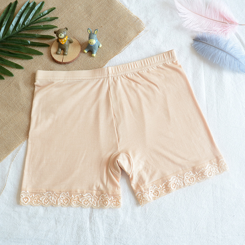 Humor New Summer The Best Hot Safety Short Pants Elastic Anti Chafing Lace Thigh Sock Middle Waist Prevent Leg Thigh Chafing Sock Durable In Use Safety Short Pants Panties