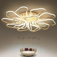 New Arrival Acrylic Aluminum Modern Led Ceiling Chandelier Light For Living Room Bedroom Study Room AC85
