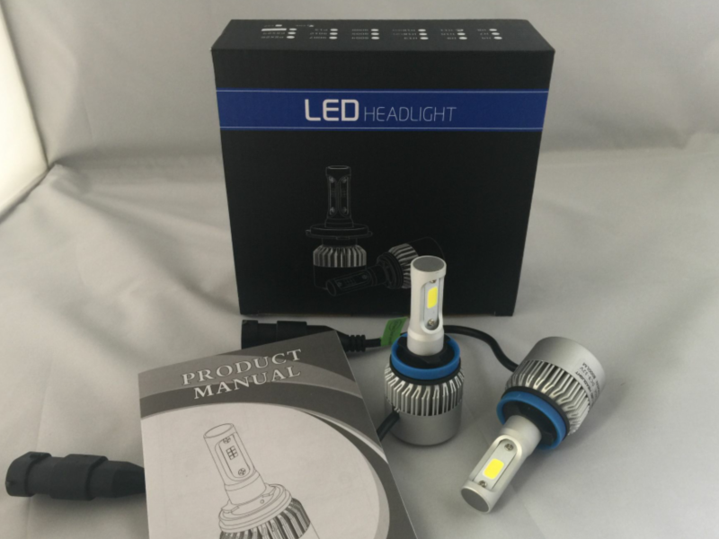 S2 Car LED Headlight Bulbs Kit H4 H7 H11 9004 9005 9007 9006 H1 H3 9012 H13 H16 880 COB S1 LED Lamp 6500K C6 Auto Led Headlamp car led headlight kit led with fan h1 h3 h4 h7 h8 h9 h10 h11 h13 9005 hb3 9006 9004 9007 9005 hi lo for car hyundai toyota