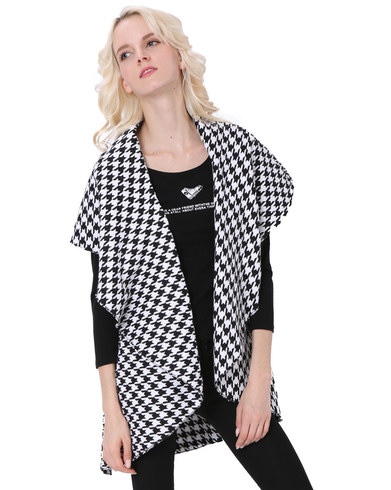 Compare Prices on Houndstooth Cape Coat- Online Shopping/Buy Low ...