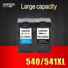 2 Pack PG-540 CL-541 XL pour Canon PG540 CL541 utilisation de la cartouche d'encre pour MG2150 MG2250 MG3150 MG3250 MG3550 MG4150 MG4250 MX375 PG 540