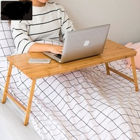 Computer Desks Office Home Bed Furniture Bamboo Laptop Desk Whole Sale Good Price Functional Portable
