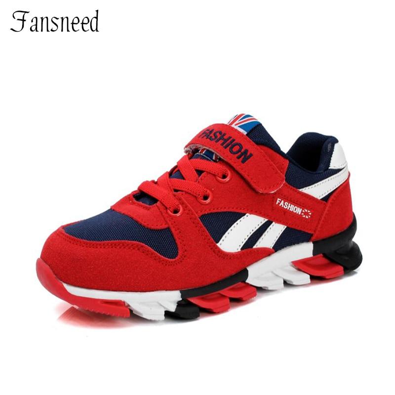 2019 sepatu anak-anak baru, Anak laki-laki sneakers, Sepatu olahraga anak perempuan, Ukuran 26 - 39 pelatih santai anak, Anak-anak bernapas sepatu lari