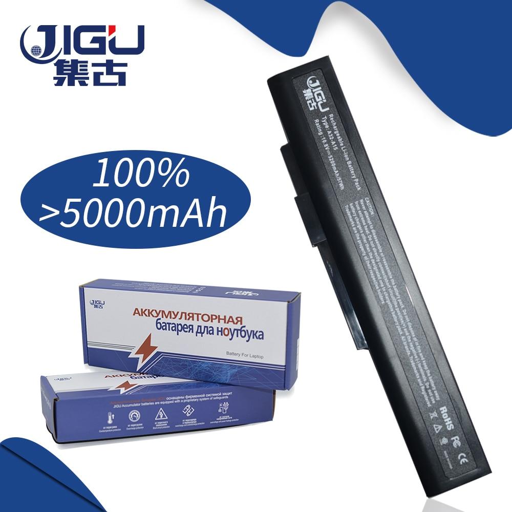 JIGU מחשב נייד סוללה A32-A15 A41-A15 A42-A15 A42-H36 עבור MSI A6400 CR640 CR640MX CR640X CX640 CX640X
