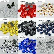 High quality Hot fix Rhinestone Iron on Rhinestones Glitter Strass Flatback Glass Crystal Hotfix stones For Clothes Shoes