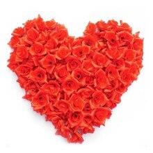 AYiCuthia 100 шт./лот, милые мини карамельные цвета, Роза из искусственного шелка, цветочные головки, вечерние украшения для волос, лепестки роз для свадьбы, H2