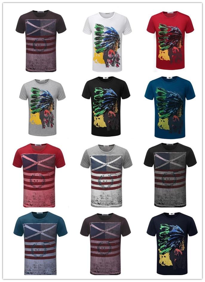 3 pcs Mâle T-Shirts À Manches Courtes O Cou Fort Hommes T-shirts Mâle été  Grande Taille Impression Casual Tops Et T-shirts Homme T-Shirt J1154 c12cf6c8f1b2