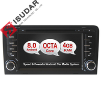 Android 6 0 1 Two Din 7 Inch Car DVD Player For For Audi A3 S3