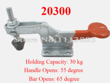 5PCS Holding Capacity 30KG 66LBS Horizontal Handle Toggle Clamp 20300