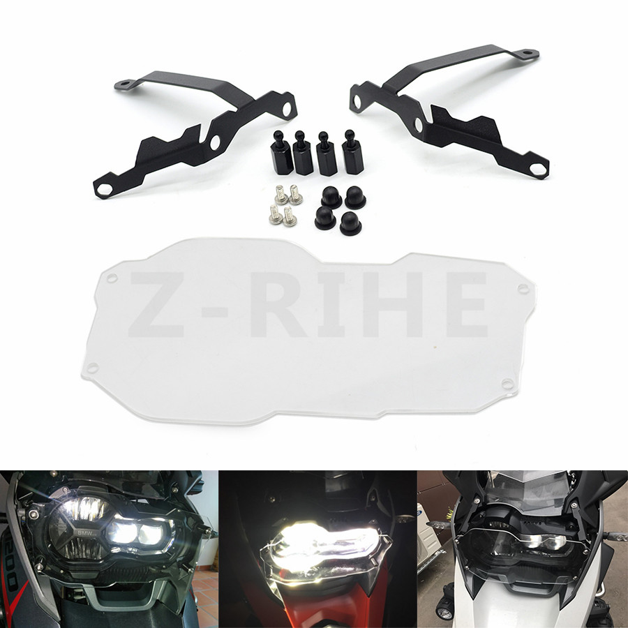 For Motorcycle Headlight Grille Guard Cover Protector For BMW R1200 GS R1200GS ADV Adventure R 1200GS (Water Cooled) 2012-2016