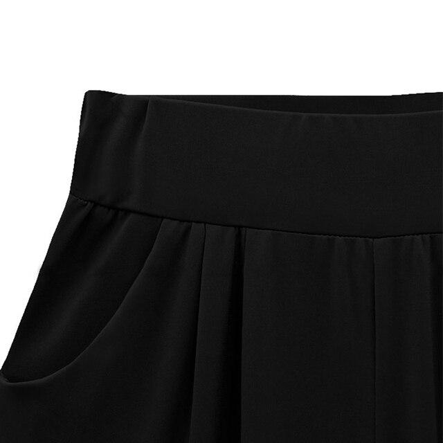 Plus size XL-6XL Women Pants Stretch Elastic Waist Pants Long Pants Skinny Ladies Pencil Trousers Blue/Black/Red Sexy Leggings