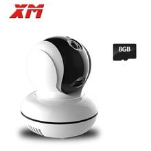 XM 960P 1 3MP 8GB SD Card HD Wireless IP Camera Wifi Security Camera with IR
