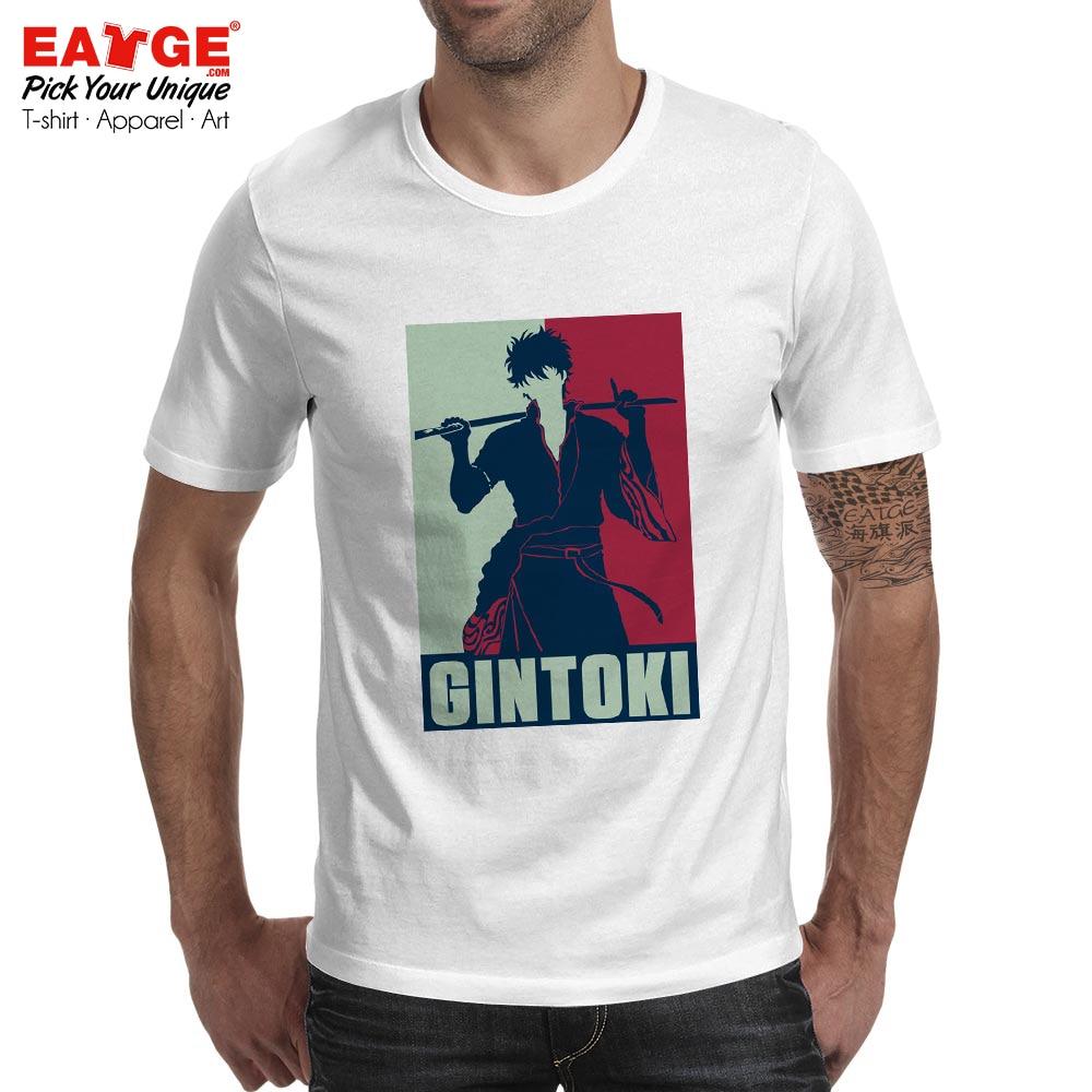 Gintama Sakata Gintoki T Shirt White Demon Bushidou Casual Classic Anime Style T shirt Active Skate Design Men Women Top Tee in T Shirts from Men 39 s Clothing