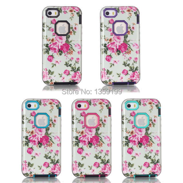 big sale 670a1 7ba06 US $8.61 |Anti shatter case for Apple iphone 5/5s elegant flower phone case  wholesaler drop/free shipping OEM order welcome on Aliexpress.com | ...
