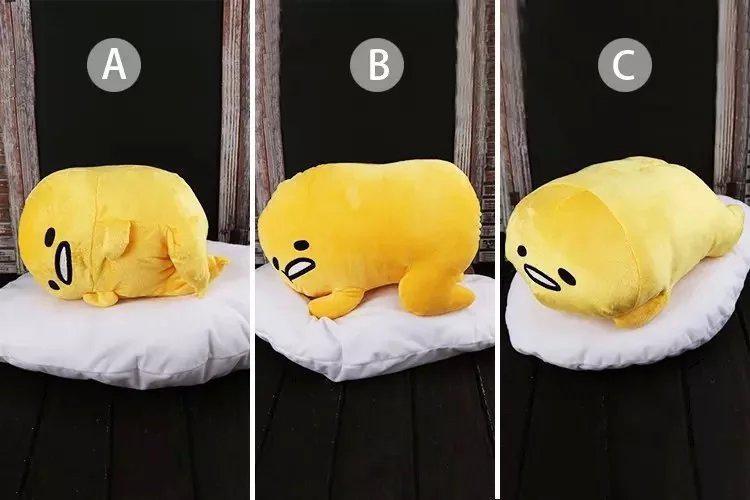 GUDETAMA Lazy Egg Yolk Plush Doll Mascot font b Toy b font Sanrio Mame Petit Kawaii