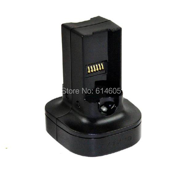 Black Universal Quick Battery Charger & 2 Batteries for Microsoft Xbox 360 Wireless Controller