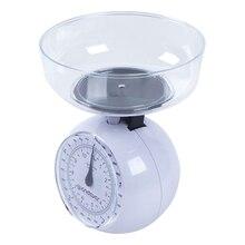 Кухонные весы Endever KS-517 (Максимальный вес 5 кг, точность измерений 40 г, АБС-пластик)