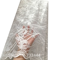 Wholesale Cheap African White Lace Fabric High Quality For Bridal Wedding,Peach Teal Pink Nigerian French Lace