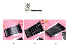 New arrival 10Pcs Professional Black Clips Volume Hair Pins Women Invisible Straight Curly Wavy Hairpin Clip Hairdresser(China)