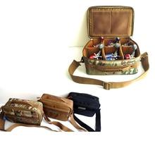 Hennoy 1 pcs Multifunctional Fishing Reel Bag Waist Fishing Pack Nylon Waterproof Fishing Packages