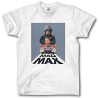 MAD MAX SHIRT INTERCEPTOR FILM CINEMA MOVIE VINTAGE POSTER 2017 Latest Fashion Gildan