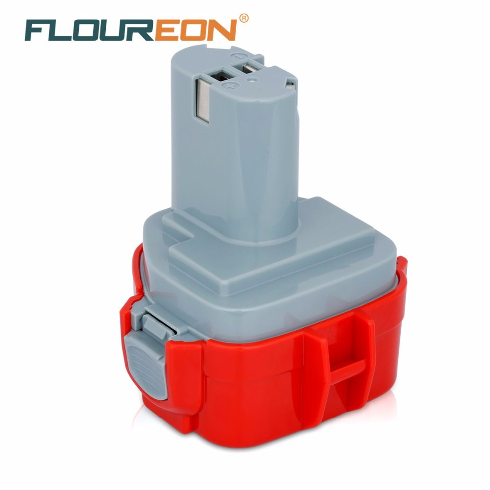 FLOUREON <font><b>12V</b></font> 3000mAh Power Tool <font><b>Battery</b></font> Rechargeable <font><b>Battery</b></font> Pack <font><b>3Ah</b></font> for Makita Mak 1050D Ni-MH DWDE DWBE 1233 1234 1235 1235B image