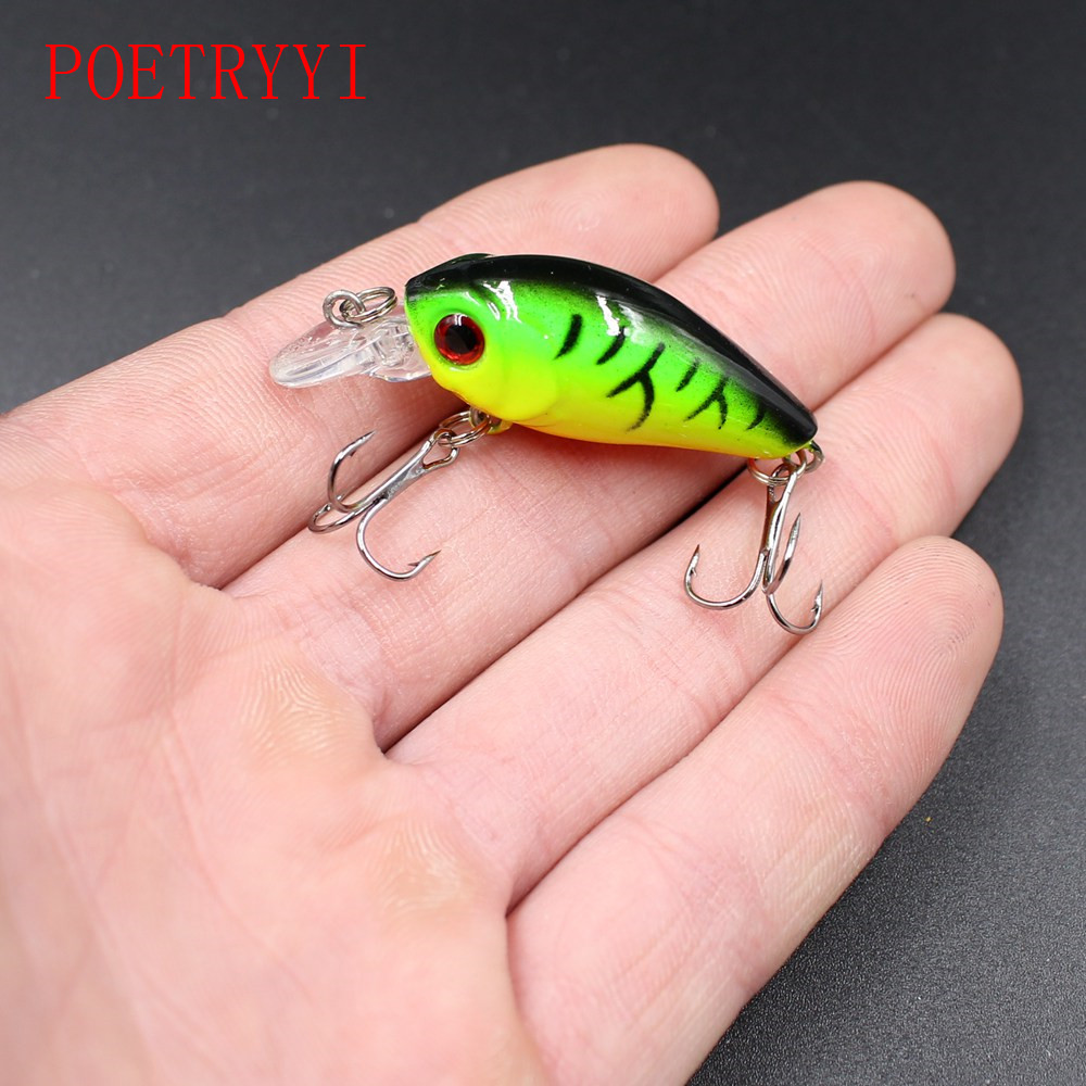 1Pcs Crank hard lure bass lures 4.5cm 3.6g fishing bait Wobbler pesca carp bait Fishing Tackle allblue slugger 65sp professional 3d shad fishing lure 65mm 6 5g suspend wobbler minnow 0 5 1 2m bass pike bait fishing tackle