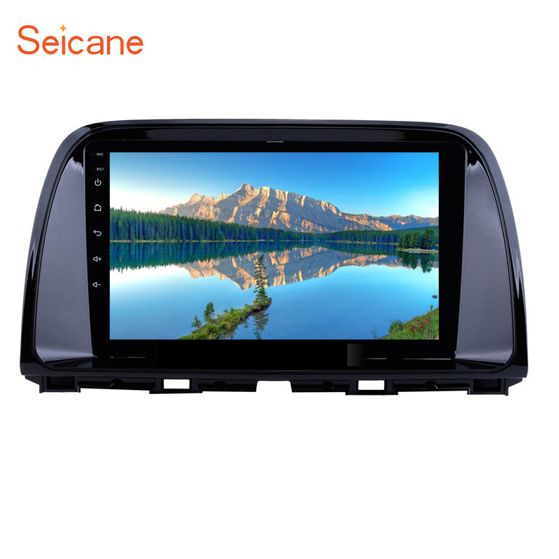 Seicane 2 Din 9 Inch <font><b>Android</b></font> 8.1 Car <font><b>radio</b></font> auto Stereo GPS For 2012 2013 2014 2015 <font><b>Mazda</b></font> <font><b>Cx</b></font>-<font><b>5</b></font> cx5 <font><b>cx</b></font> <font><b>5</b></font> car Multimedia Player image