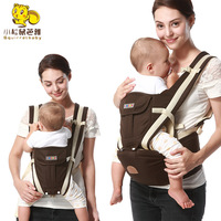 SUNVENO New Design Infant Toddler Ergonomic Baby Carrier With Hipseat For Baby Infant Toddler Kids 3