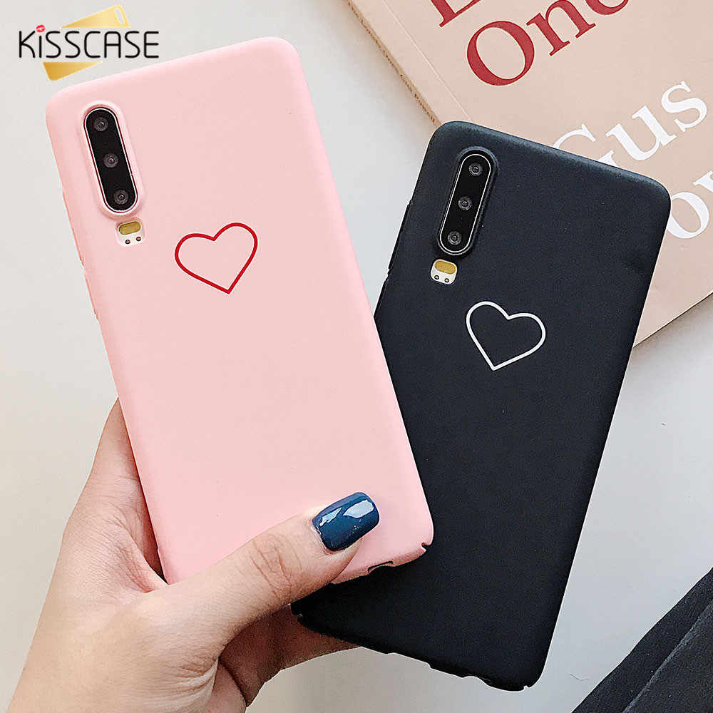 KISSCASE Hard PC Case For Huawei P20 P30 P10 Lite Pro Ultra Thin Phone Cases For Huawei Mate 10 20 Pro Lite Honor 8X 9 10 Lite