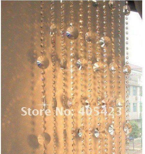 metroslote entrada acrlico girasol cortina de cristal cortina de