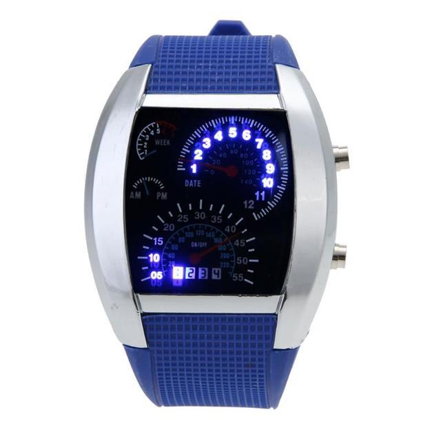 Fashion Men's Watch LED Digital Watch Men Watch Electronic Sport Watches Clock 2