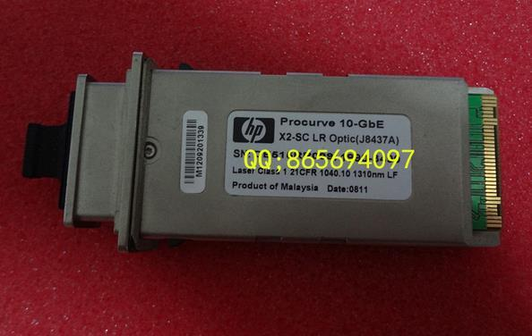 Free shipping! In stock 100%New and original  1 years warranty   J8437A 1310nm 10KM X2 LR