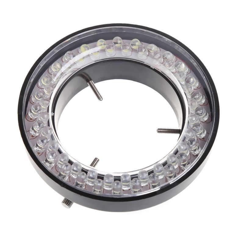 60 светодиодный регулируемый кольцевой осветитель лампа для стерео зум микроскоп ЕС вилка