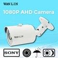 Lin wan 2.0mp sony imx323 ao ar livre à prova d' água 1080 p câmera de cctv ahd segurança video surveillance camera com 30 metro de visão noturna