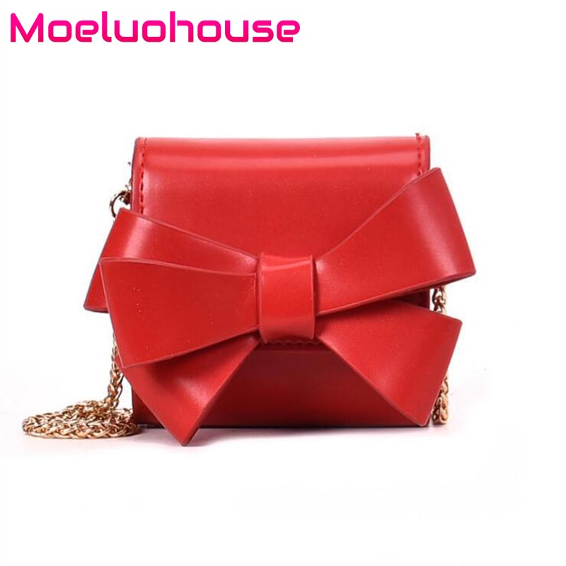Moeluohouse Cute bag for women crossbody Bow Girl Chain Hasp Flap Fold Korean Style PU Fashion Kawaii MIni GiftMoeluohouse Cute bag for women crossbody Bow Girl Chain Hasp Flap Fold Korean Style PU Fashion Kawaii MIni Gift