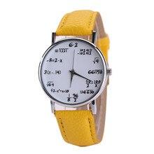 watches women fashion watch 2016 luxury brand Women Mens PU  Leather Big Number Priting  Watch Sport Quartz Wrist Watch Relogio
