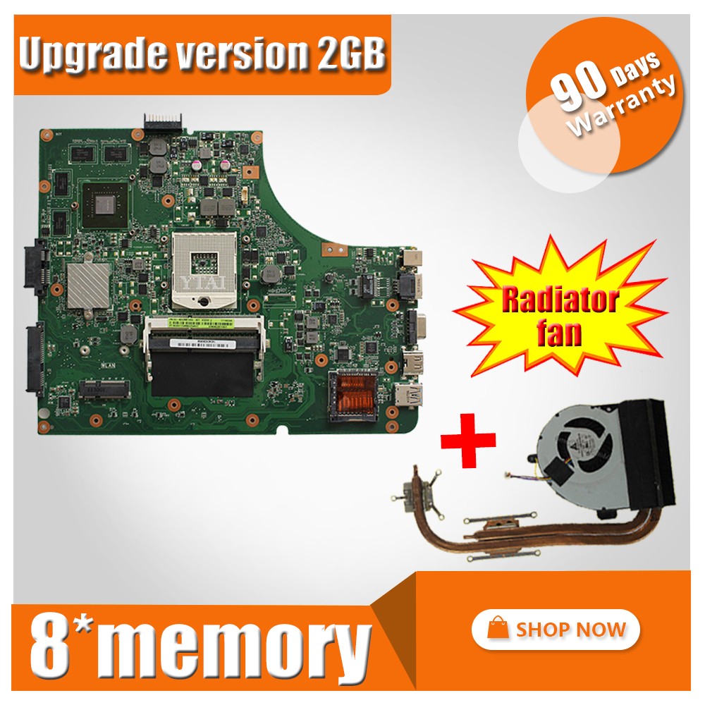 Upgrade GT540M For ASUS A53S K53S X53S P53S K53SJ K53SM K53SV laptop motherboard K53SV Mainboard K53SV