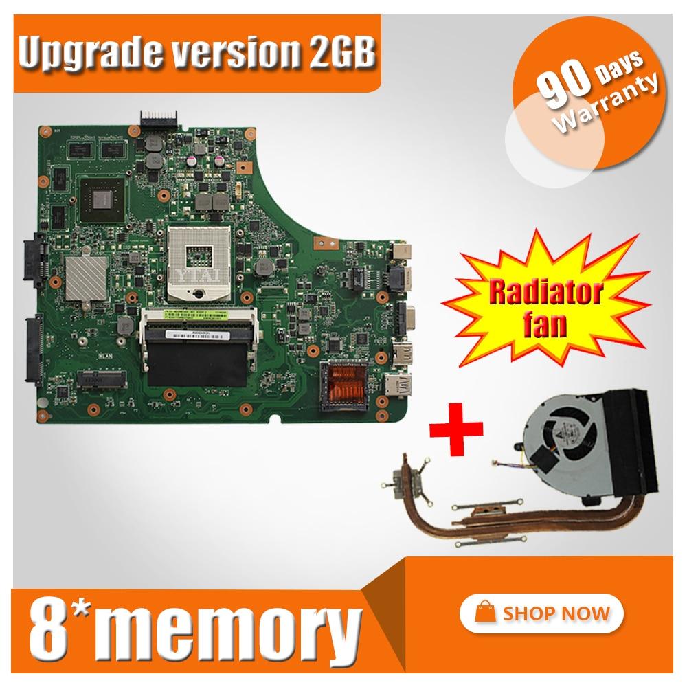 Upgrade GT610M 2GB For ASUS A53S K53S X53S P53S K53SJ K53SM K53SV laptop motherboard K53SV Mainboard K53SV Motherboard test ok free shipping k53sv gt540m 2gb rev3 0 usb 3 0 mainboard for asus k53s x53s a53s k53sv laptop motherboard p n 60 n3gmb1a00 a02